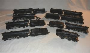 Vintage Train Engine & Tender Lot American Flyer S-Scale Locomotives (Cranbury, NJ) for sale