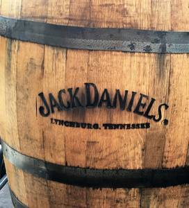Branded Used Whiskey Barrels Fresh From America's Favorite Distillery. (Brooksville) for sale