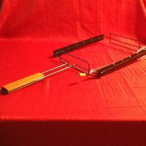 Shish Kabob Grill Rack With 6 Skewers (Derry), used for sale