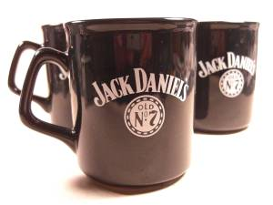 Jack Daniels coffee mug set PLUS (Helena), used for sale
