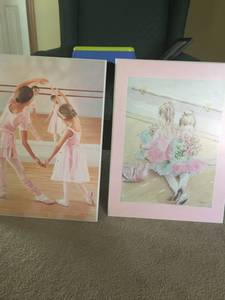 Pink dance pictures (Woodbury) $40