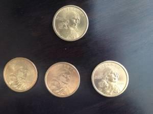 Sacagawea Dollar Coins (Waukesha), used for sale