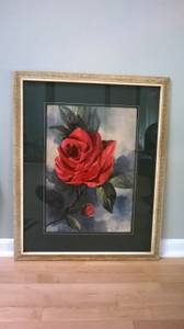 Picture of red rose (LINCOLN PARK) $35