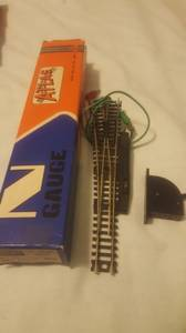 N Gauge Atlas Right and Left Remote Switch New ..price per (Westlake) for sale