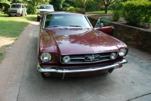 1965 Ford Mustang Hardtop GT AC Rust free 55k org miles GA car