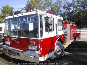 FOR PARTS A 1984 HENDRICKSON FIRE TRUCK DETROIT V-8 W/ALLISON 50K MILE (NEVADA TX 75173), used for sale  Detroit