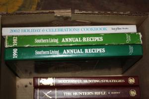 3 cookbooks - Southern Living and holiday (CANDLER) $10