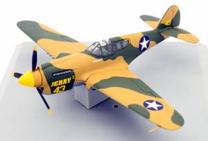 """ARMOUR DIECAST 1:100 SCALE #5390 CURTISS P-40 WARHAWK """"JERRY II"""" (S.E. CLEVELAND) for sale  Detroit"""