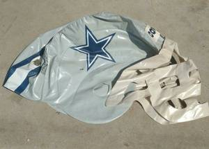 Dallas Cowboys Inflatable Helmet. for sale  Toronto