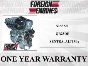 NISSAN ALTIMA SENTRA QR25DE 2.5 ENGINE 2001 2002 2003 2004 2005 2006 (LYNNWOOD) for sale  Seattle