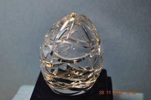 Used, Old Crystal Egg Faberge (vancouver bc) for sale