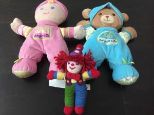 Baby's First Doll and Bear Plus Free Gymboree Doll (Lincoln Park), used for sale
