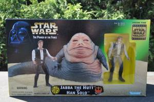 Star Wars Jabba The Hutt And Han Solo (Glendora), used for sale