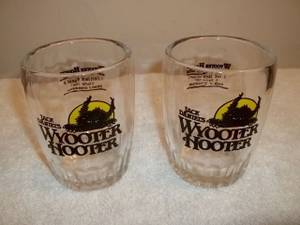 Used, Jack Daniels Distillery Wyooter Hooter Whiskey Glasses (Festus) for sale