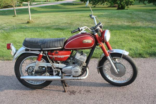 Rare 1970 yamaha 250 2 stroke ds6b - motorcycles/scooters - by owner...