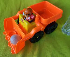 Fisher Price Little People Builders Front Loader Tractor Bulldozer Toy (Tacoma) for sale  Seattle