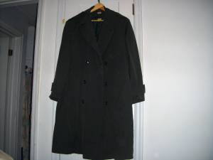 Used, *REDUCED* Vintage Man's US ARMY Wool Gabardine Overcoat AG-44 (South Hill) for sale