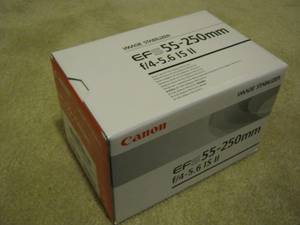 Canon EF-S 55-250 mm f/4.0-5.6 IS II Telephoto Zoom Lens (Arlington) for sale
