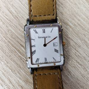 Mens Gents Watch 1980's Tiffany and Co Watch Swiss Quartz (Seattle) for sale