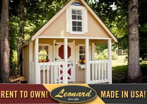 Leonard 8'X12' Playhouse - Starting at $129/Month - OR (Winchester, VA - Other Cities Available) for sale
