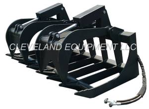 NEW HD ROOT GRAPPLE ATTACHMENT Bobcat Skid Steer Loader Rake Bucket (MANY GRAPPLE BRANDS, SIZES for sale  Detroit
