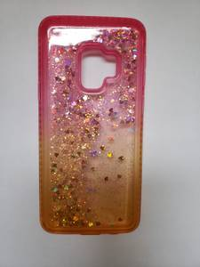 Galaxy S9 Glitter Quicksand Case & Screen protector (Bellevue), used for sale