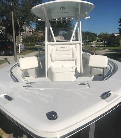 1 owner center console boat 2015 sea hunt ultra 234 w/96 gallon fuel...