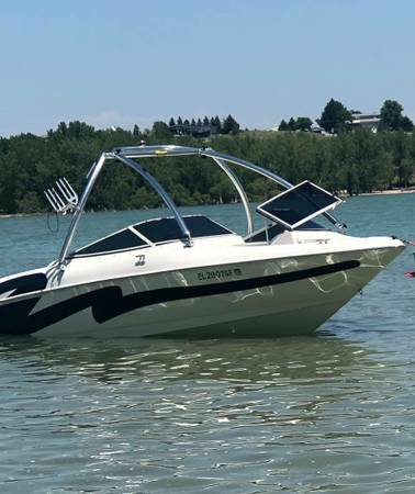 1998 larson 226ss big block volvo penta duo prop - boats - by owner...