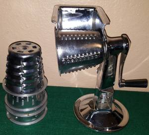 Vollrath King Kutter Manual Food Processor w/ Suction Cup Base | Model (NW Cy Fair) for sale  Austin
