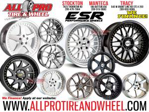 "⭐⭐ ESR Wheels On Sale 17"" 18"" 19"" LEXUS IS 300 NISSAN BMW M3 Stagg (WE FINANCE!☑ NO CREDIT  NEEDED) for sale"