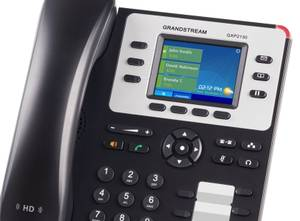 Complete PBX Office Phone System with 8 Phones for sale