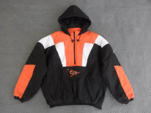 Baltimore Orioles Starter Pullover Jacket Men's Size XXL NEW WITH TAGS (Brandywine) $65