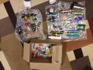 DOZENS of Glass Pipes, Metal Pipes, Grinders, Stash Containers, Bongs! (Shoreline) for sale  Seattle