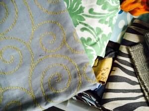 Used, Fabrics-Remnants and Bolts (DEPAUL) for sale