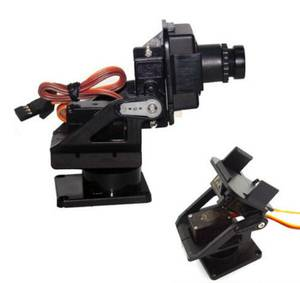 Mini P/T Camera Mount with Servos, for RC Plane/Quad, or Other (Los Alamos) $27