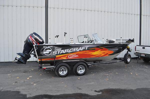 2011 starcraft aluminum fishing boat w/ trailer zdt - boats - by...