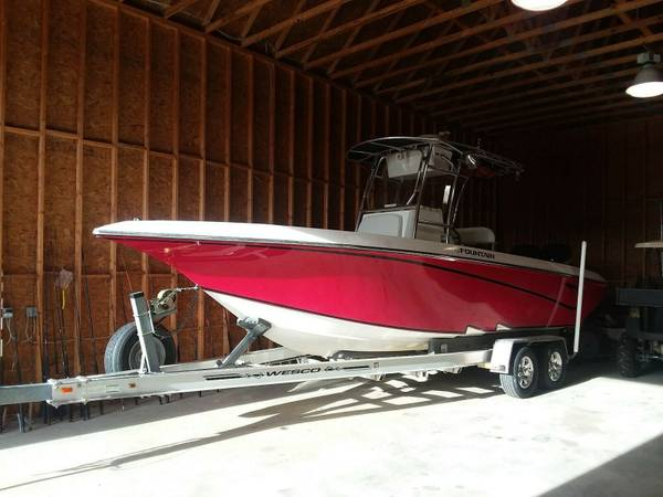 2007 fountain 23t center console twin mercury optimax - boats - by...