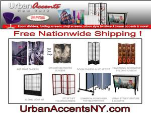 Partitions, Room Divider Screen, Folding Screen $59