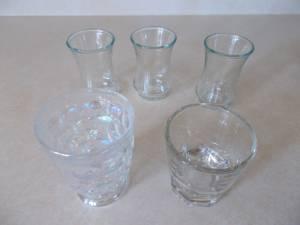 Tiny Glasses, Miscellaneous Set of 5 (Tucson) $5