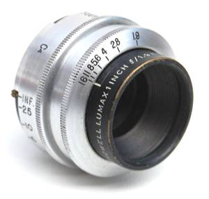 Used, 25mm f1.9 BELL & HOWELL LUMAX C-MOUNT LENS (Tucson) for sale  Phoenix
