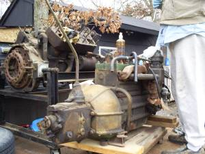 1937 packard I-8 120D engine/trans (howell), used for sale