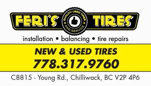 Used, 255-55R20 USED ALL SEASON TIRE (Chilliwack) for sale  Vancouver