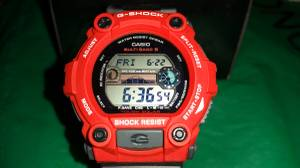 Used, Casio G-Shock GW7900 RED Black Rescue Custom 2 Tone Feature LOADED NEW (Seatac) for sale  Seattle