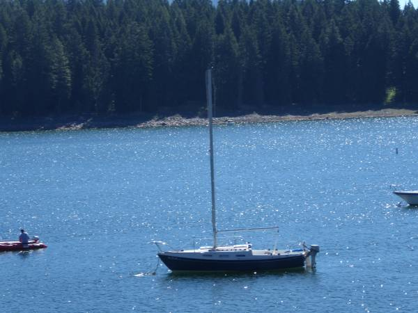 1976 tanzer 22 sailboat - boats - by owner - marine sale