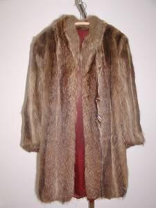 Knee-Length Raccoon Fur Coat (Huntington area) for sale  Boston