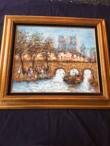 Nice Oil Painting 7 (West Dundee) $2450