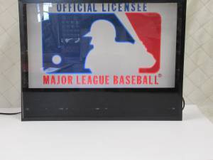 Used, Shadow Box Black Light with Changeable Signs LaBatts Baseball Holidays (Main/Marine) for sale  Seattle