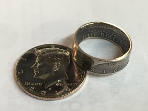 Kennedy Half Dollar *Coin Rings* (1971-2019) (Cary) for sale