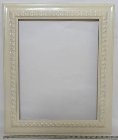 "16x20 awc frame ~1675 white ~ 3"" molding ~ studio sample - furniture..."