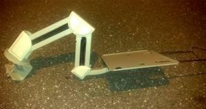 Monitor/Keyboard adjustable Clamp-On Shelf, 3 Drawer Storage Cabinet (Largo) for sale